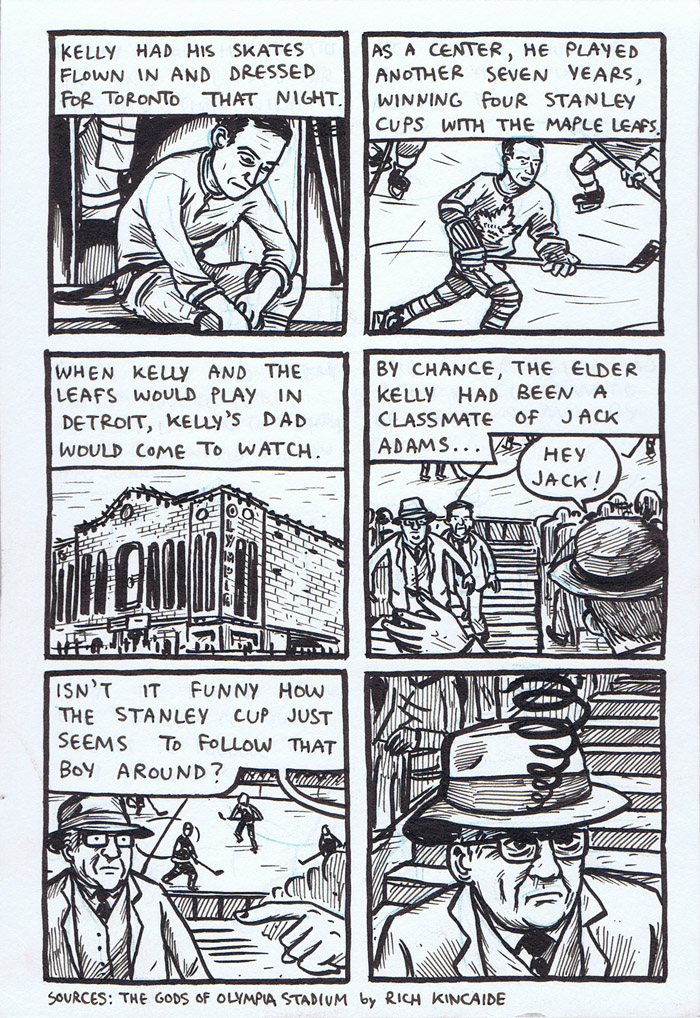 Old Timey Hockey Tales - Jack Adams vs. Red Kelly - page 4