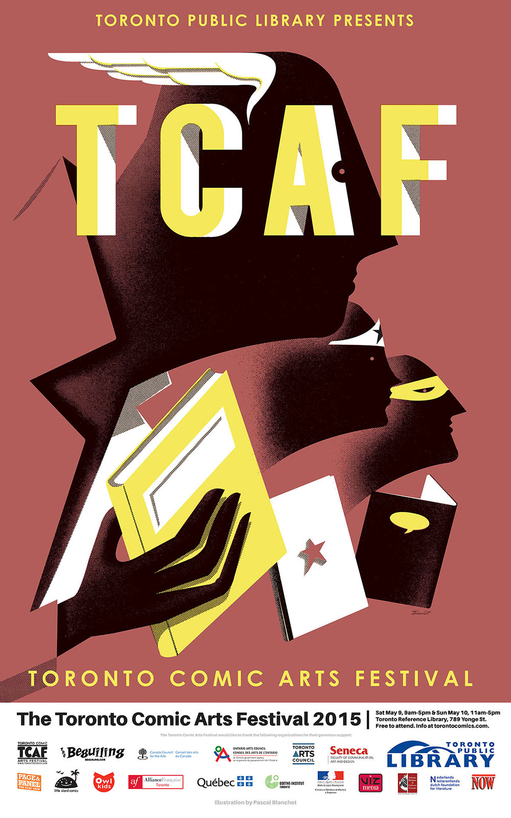 TCAF 2015 Poster (Pascal Blanchet)