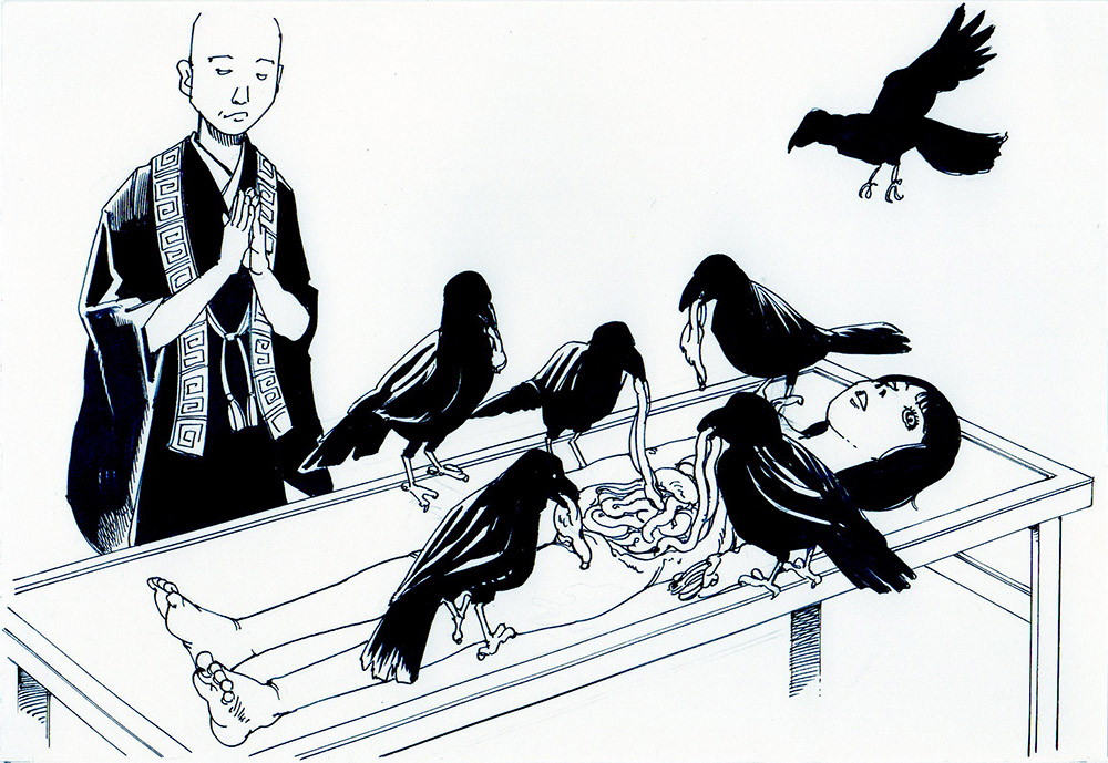 Funeral Service 2015 Eaten by crows