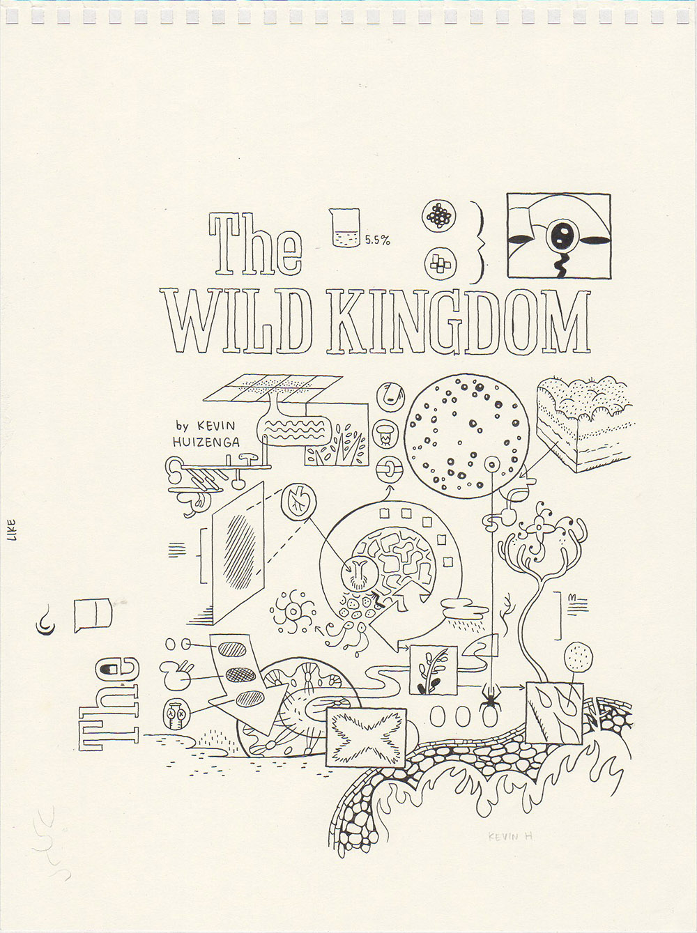 The Wild Kingdom - Front cover