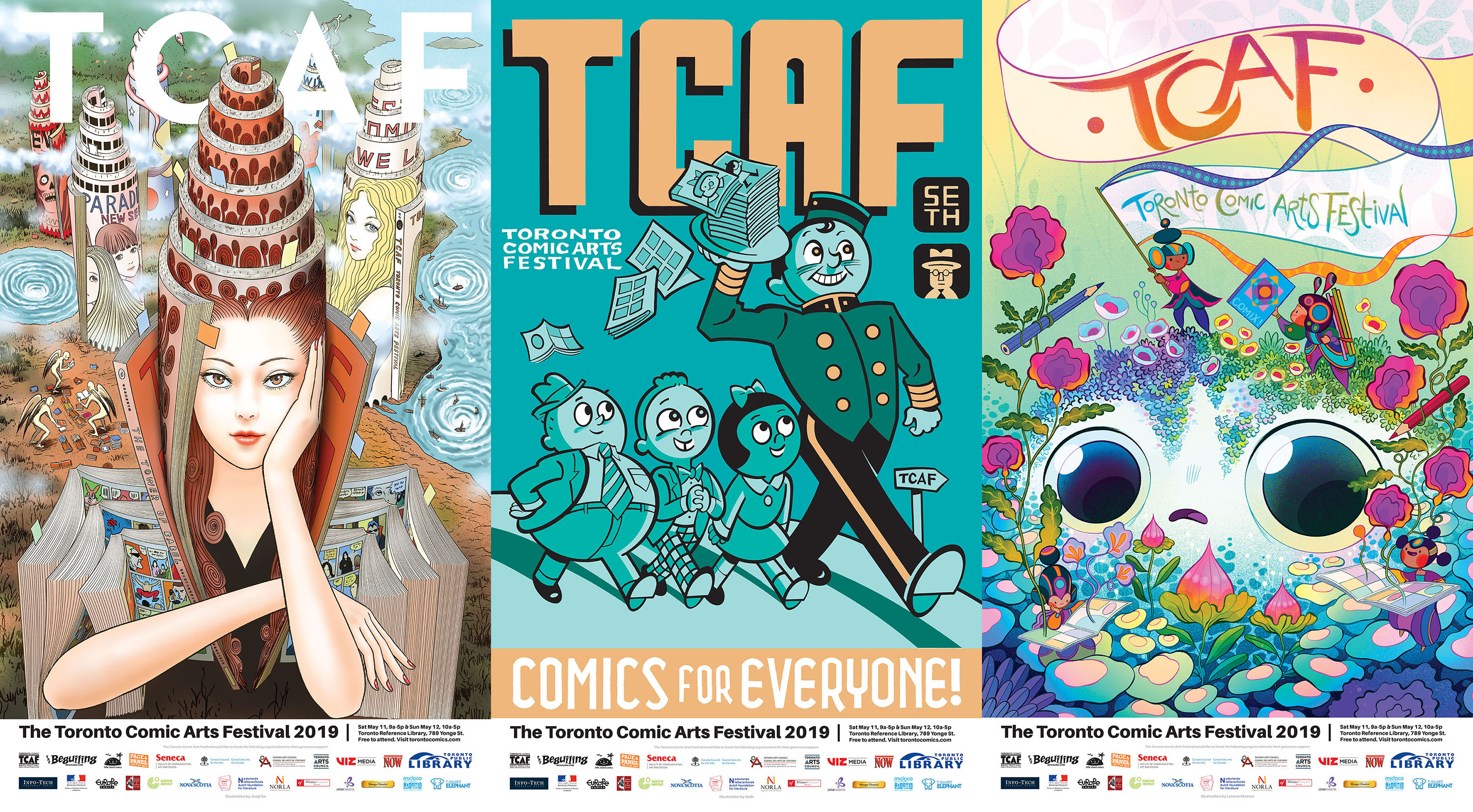 TCAF 2019 Posters (complete set)