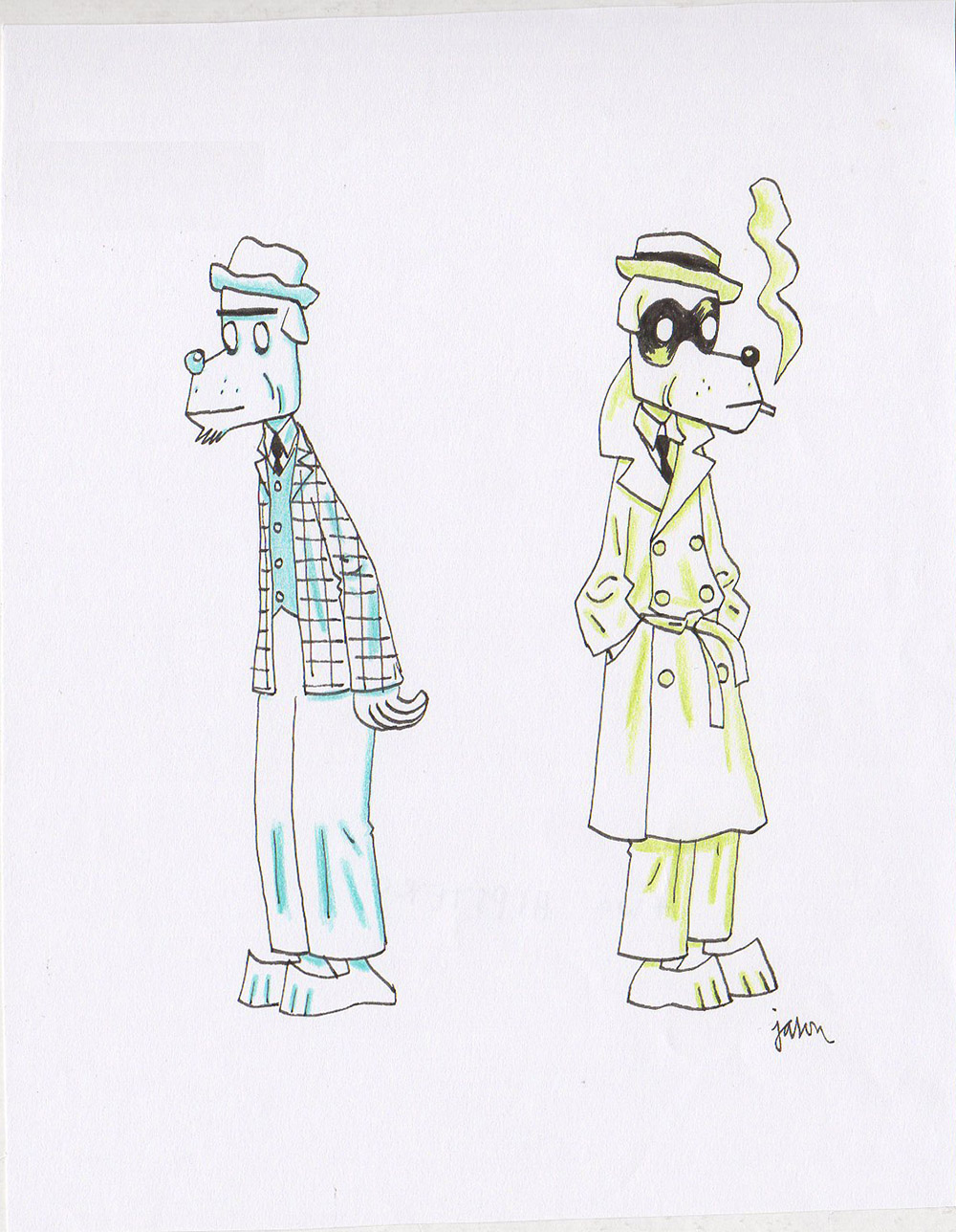 Two Characters