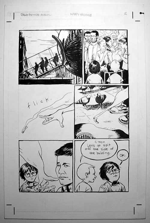 Dark Horse Maverick: Happy Endings - Happy Ending - page 2