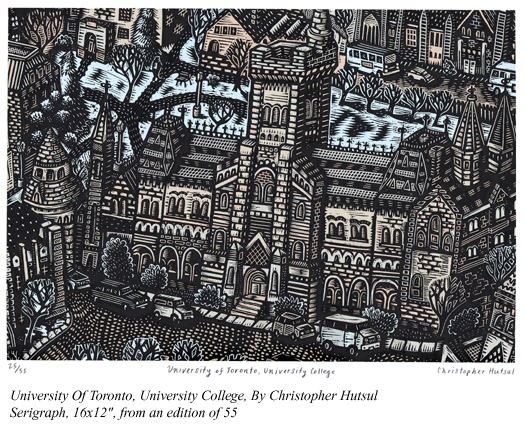 University Of Toronto, University College - Seriagraph