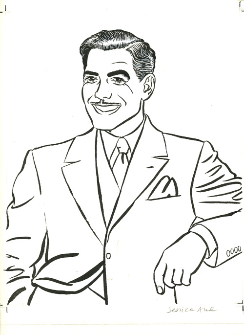 Illustration - George Clooney