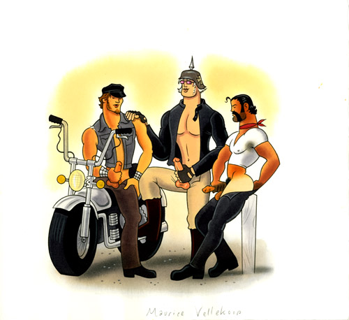 B is for bikers