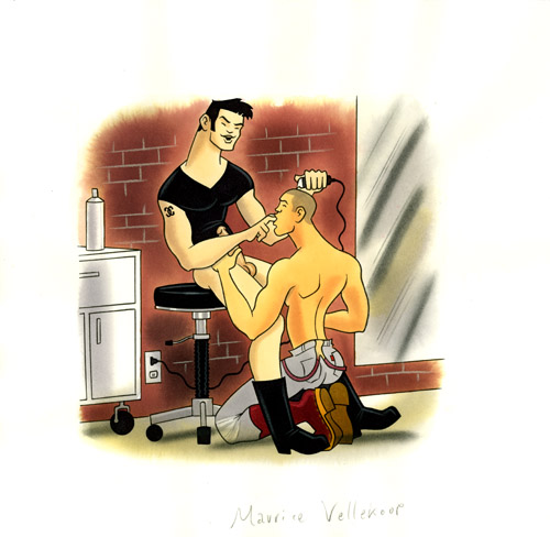 H is for hairdresser