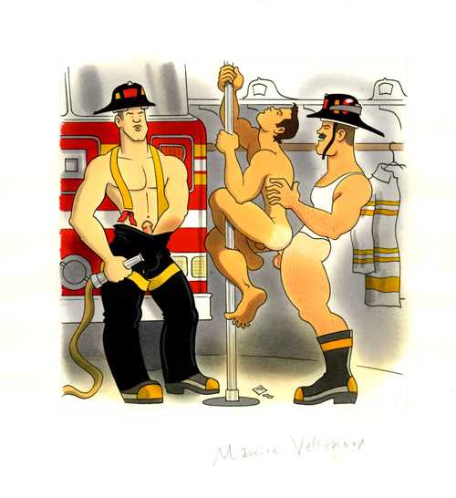 Alternate F is for firemen (version 2)