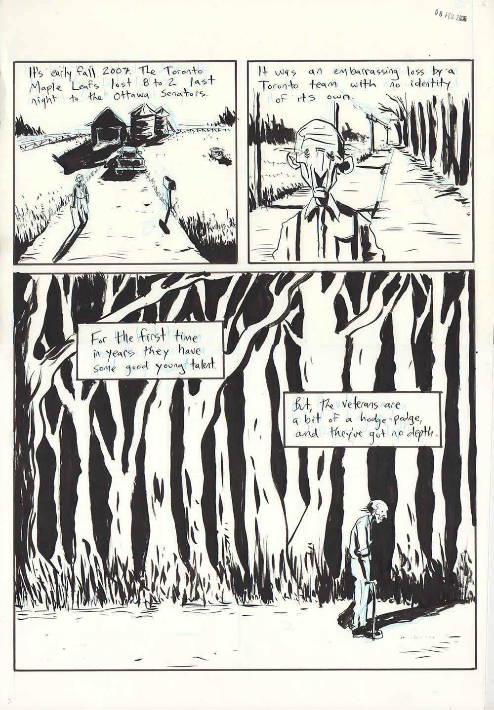 Essex County Book 2: Ghost Stories - page 122