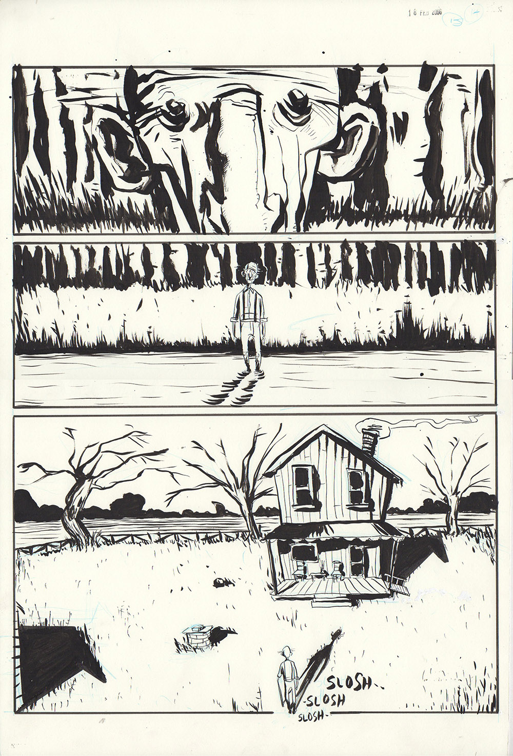 Essex County Book 2: Ghost Stories - page 129