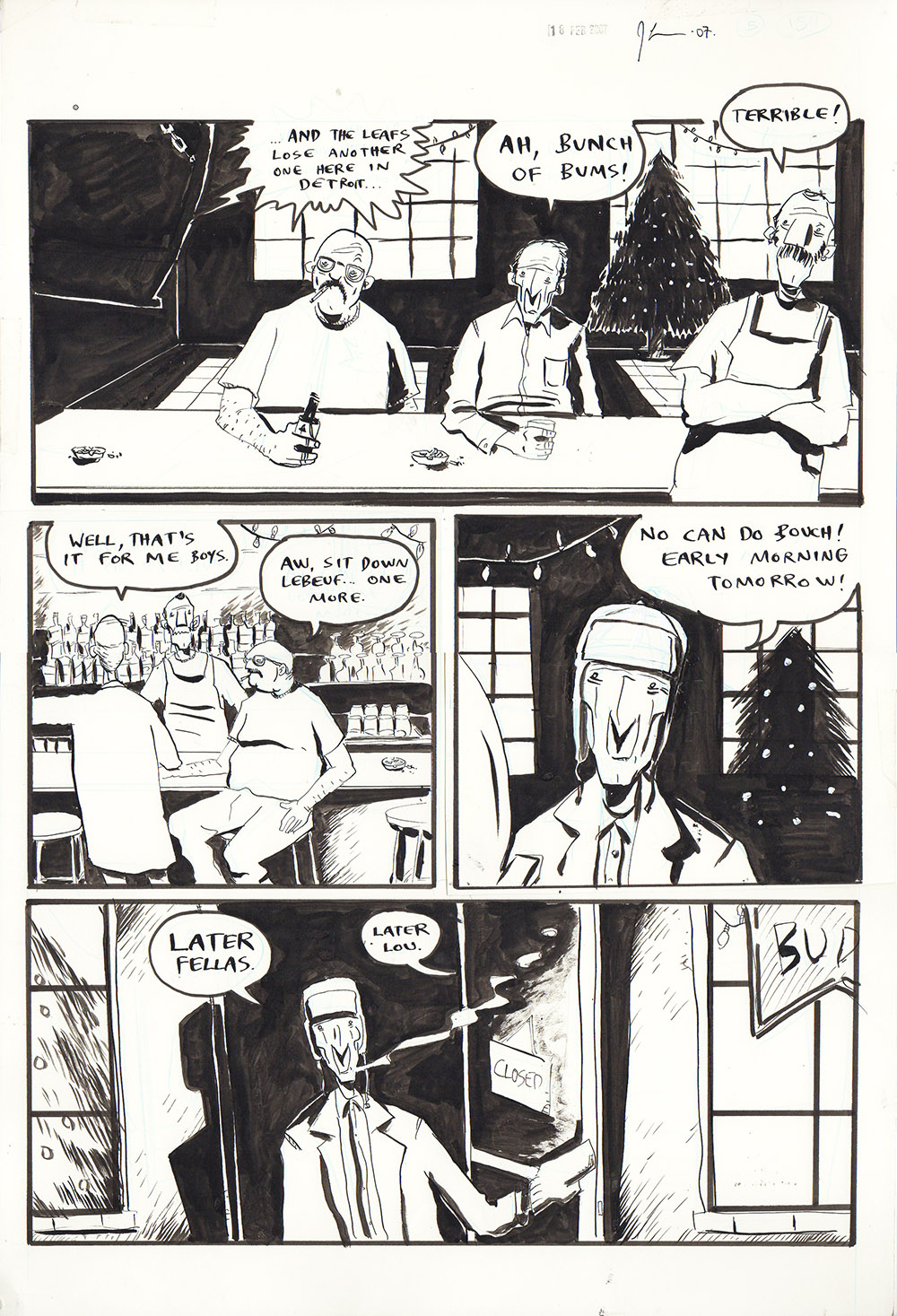Essex County Book 2: Ghost Stories - page 275