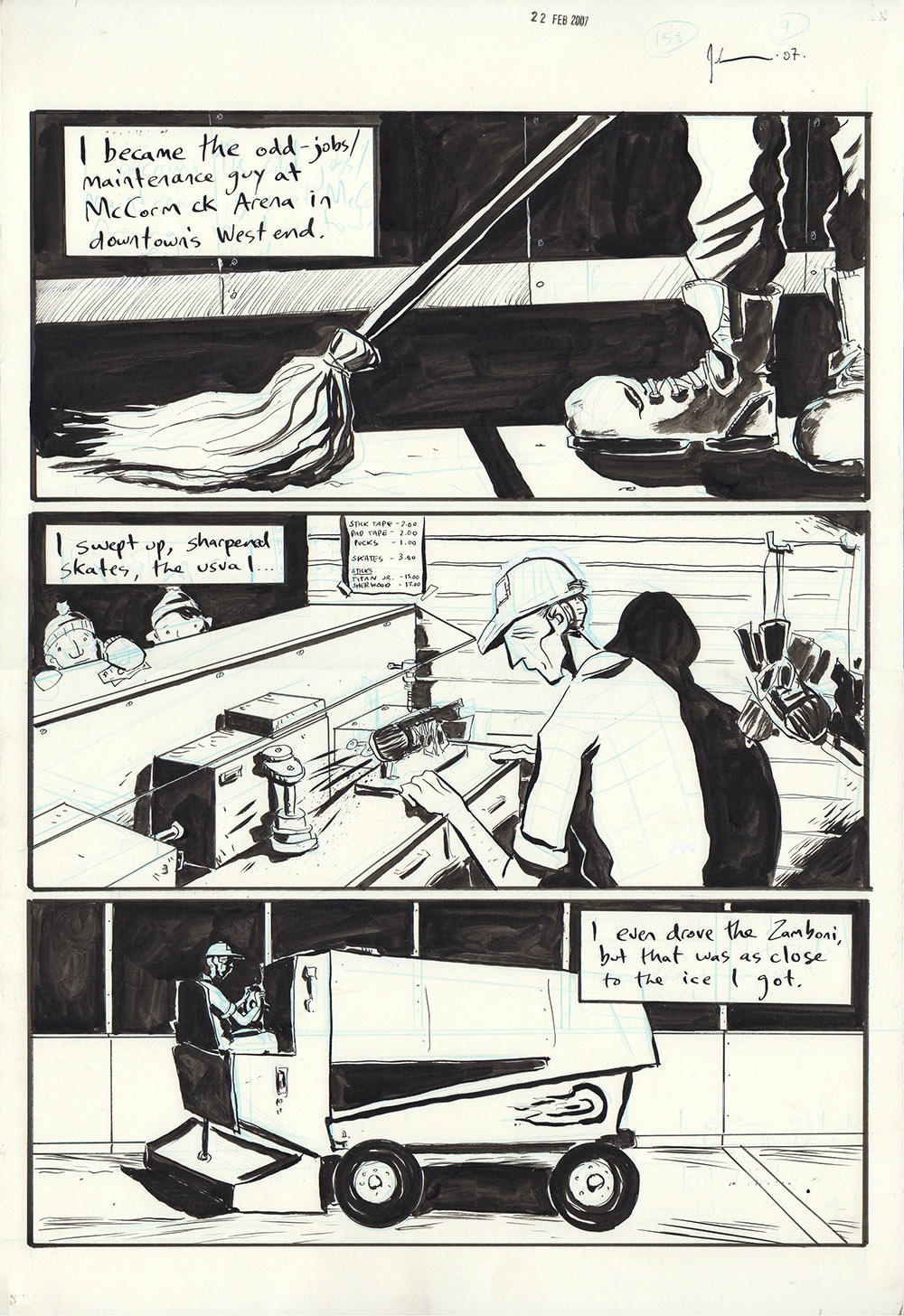 Essex County Book 2: Ghost Stories - page 279