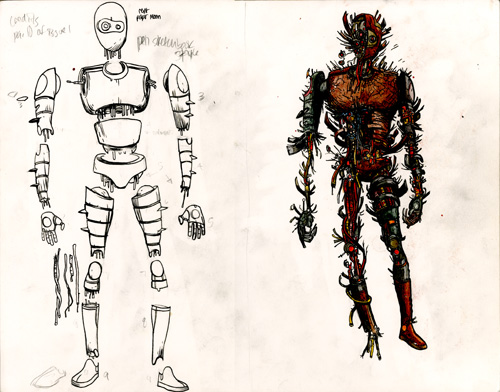 Omega: The Unknown - Robot Design