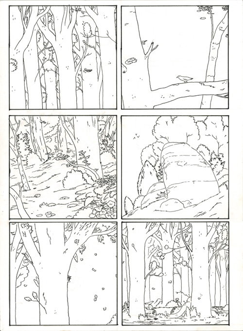 Crickets #1 Black Death Page 5