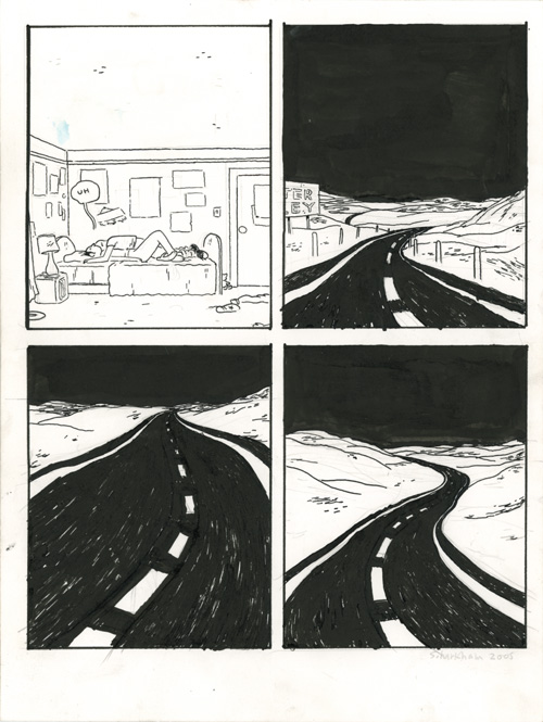 Somersaulting panels ugh - The road