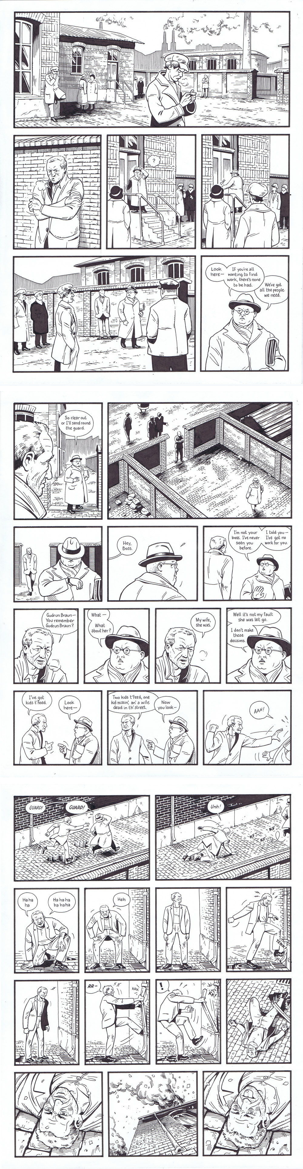 Berlin Book Two: City of Smoke - page 114-116