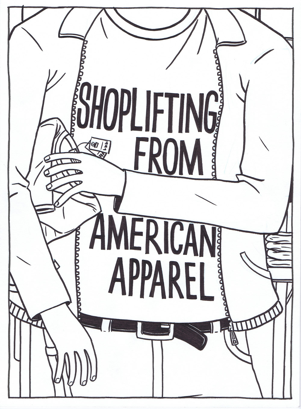 Shoplifting from American Apparel - film poster