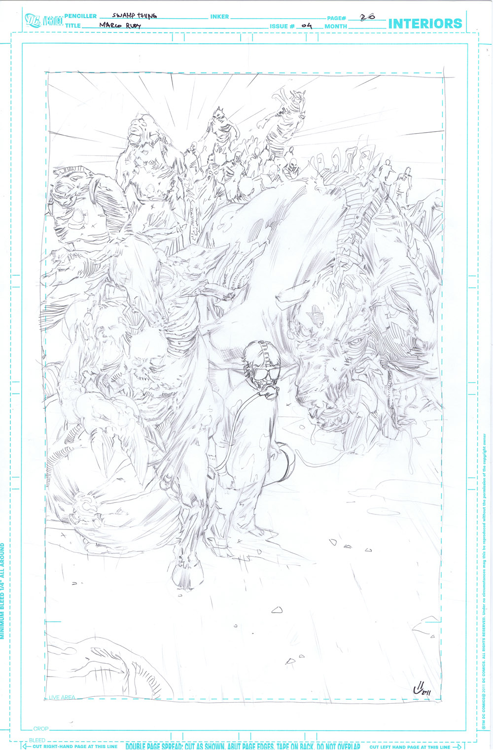 Swamp Thing #04 - page 20