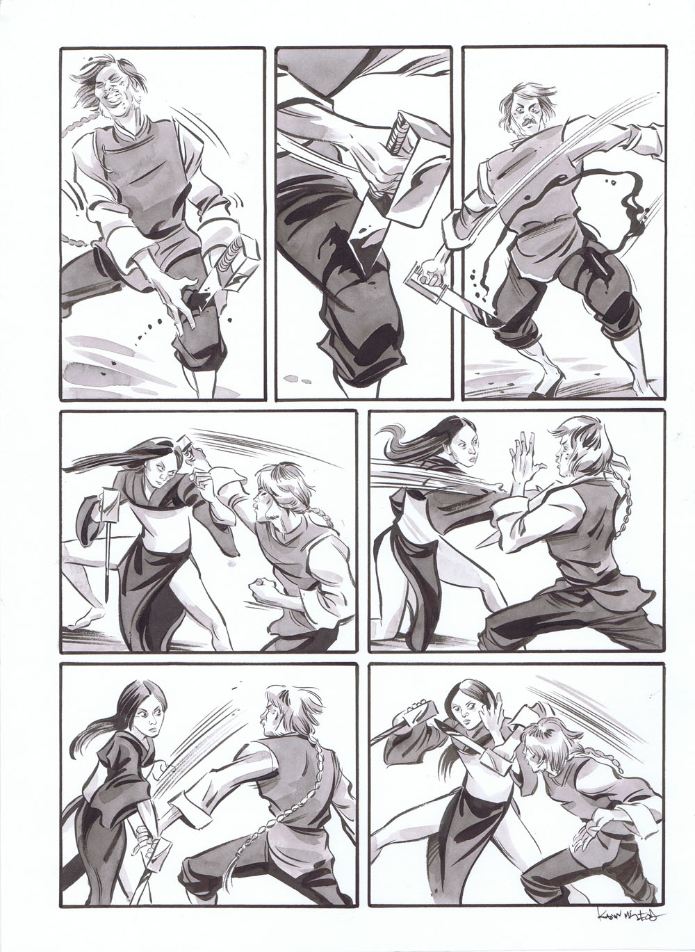 Infinite Kung Fu page 407