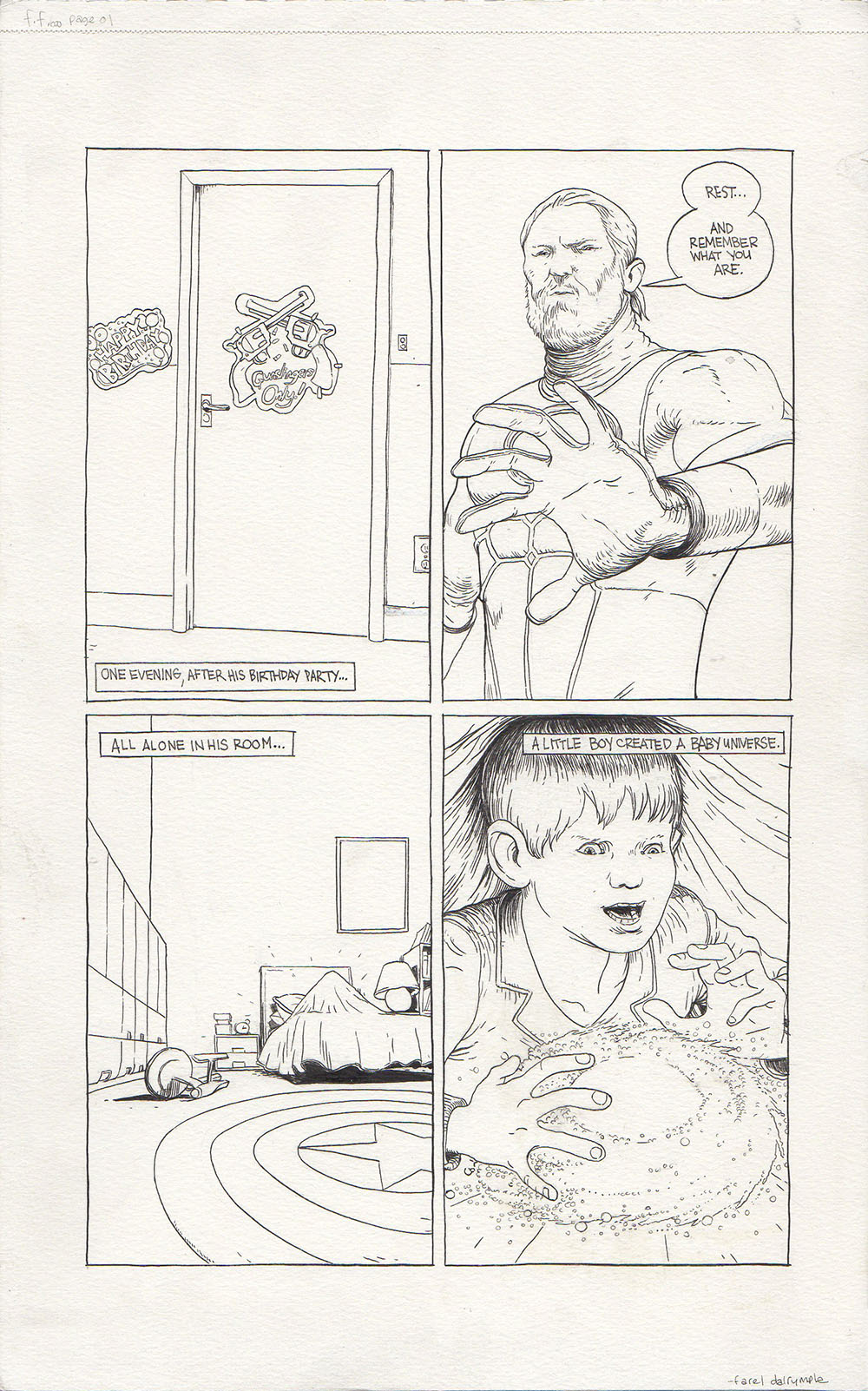 Fantastic Four 600: Remember - page 1