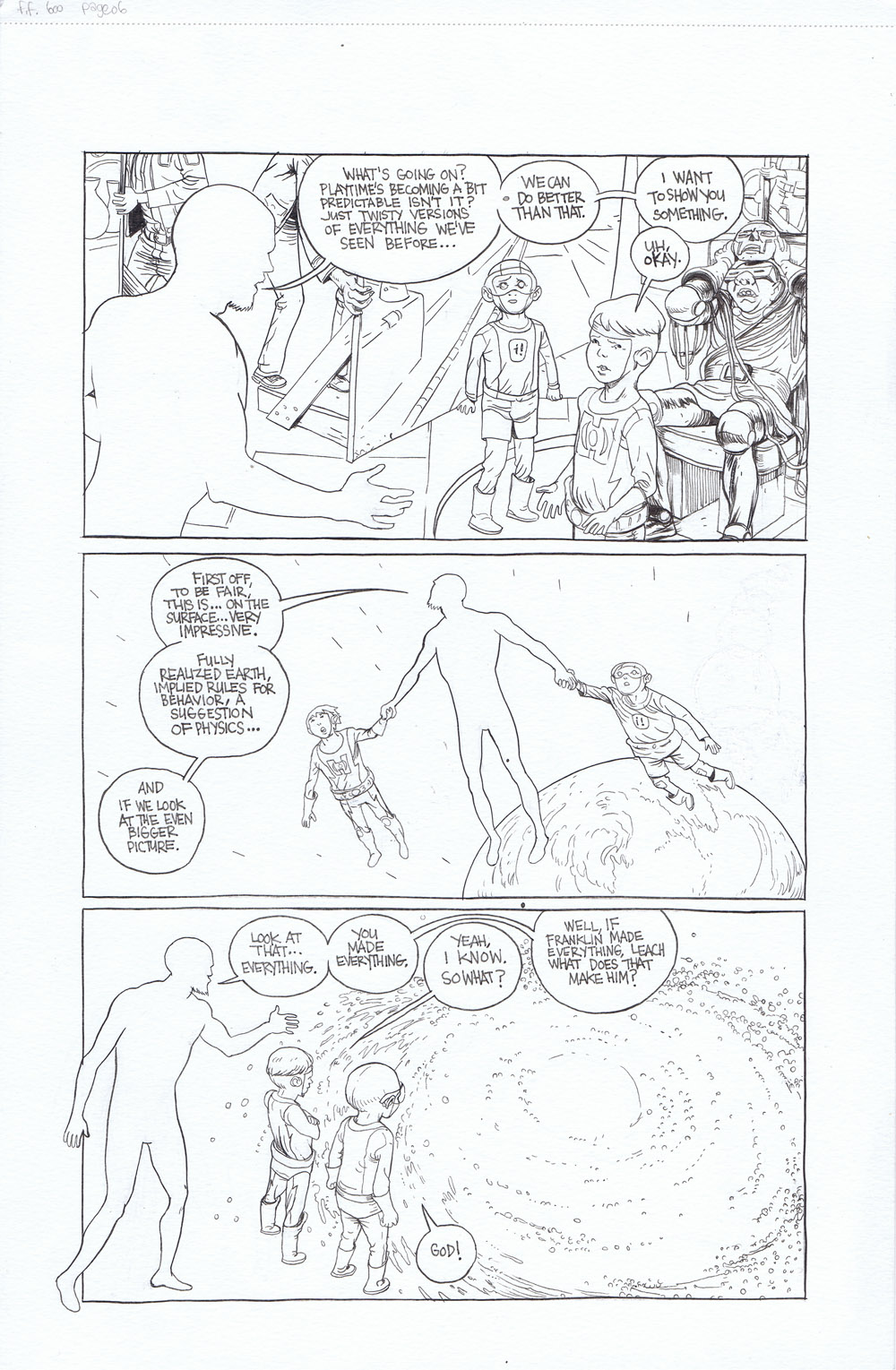 Fantastic Four 600: Remember - page 6