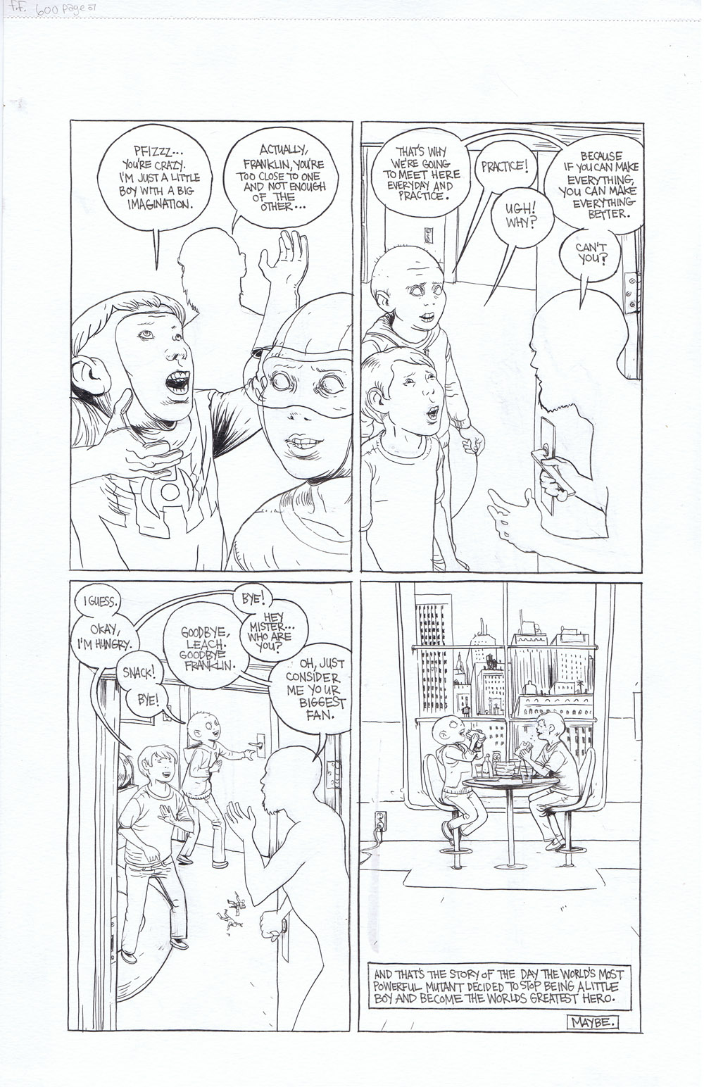 Fantastic Four 600: Remember - page 7