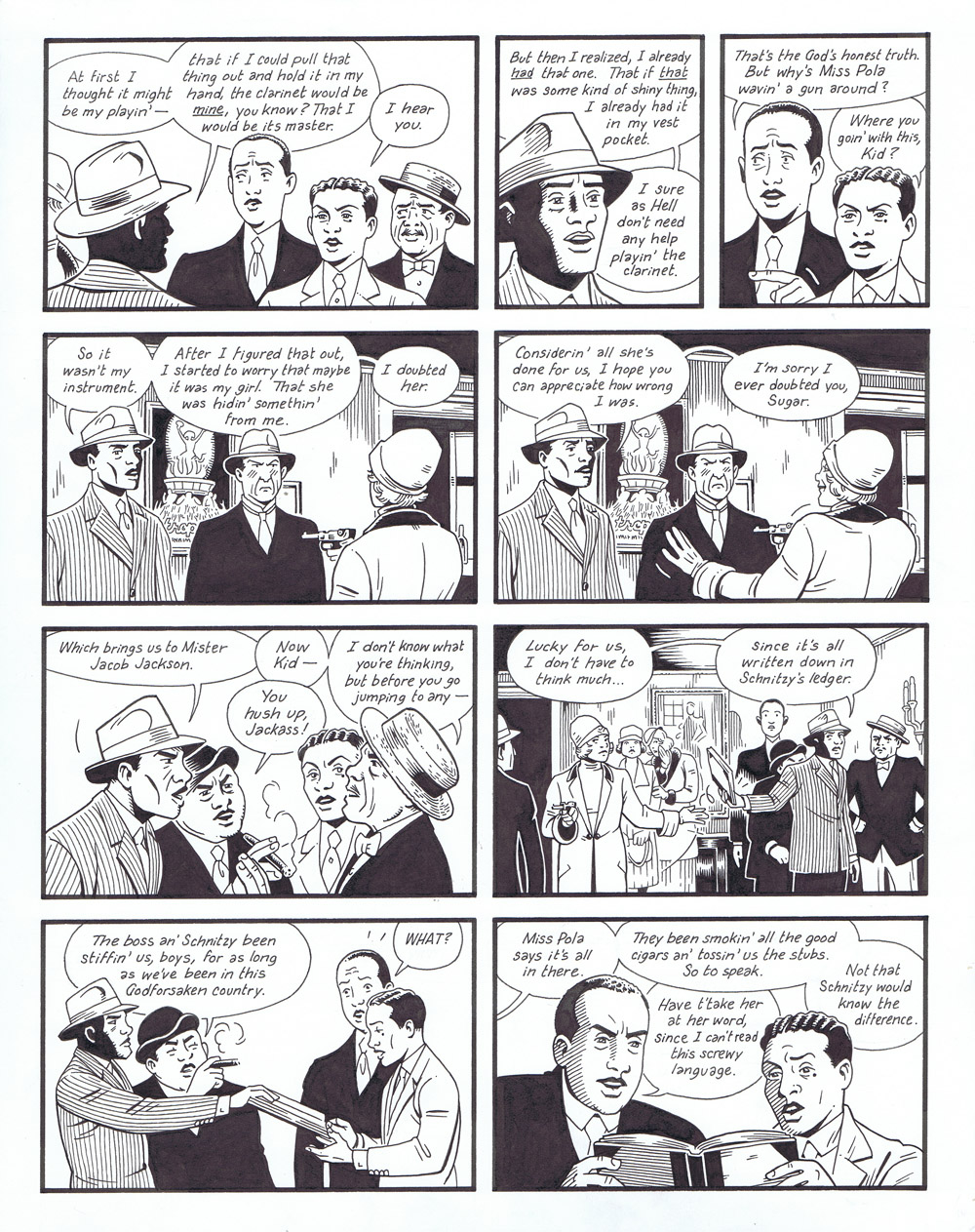 Berlin Book Two: City of Smoke - page 201