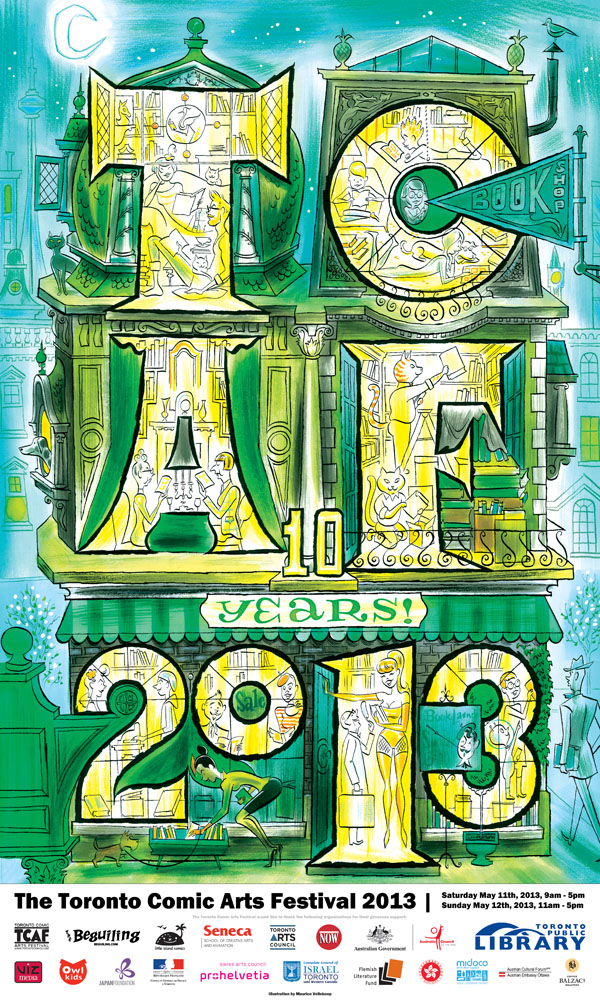 TCAF 2013 Poster (Maurice Vellekoop 10th Anniversary)