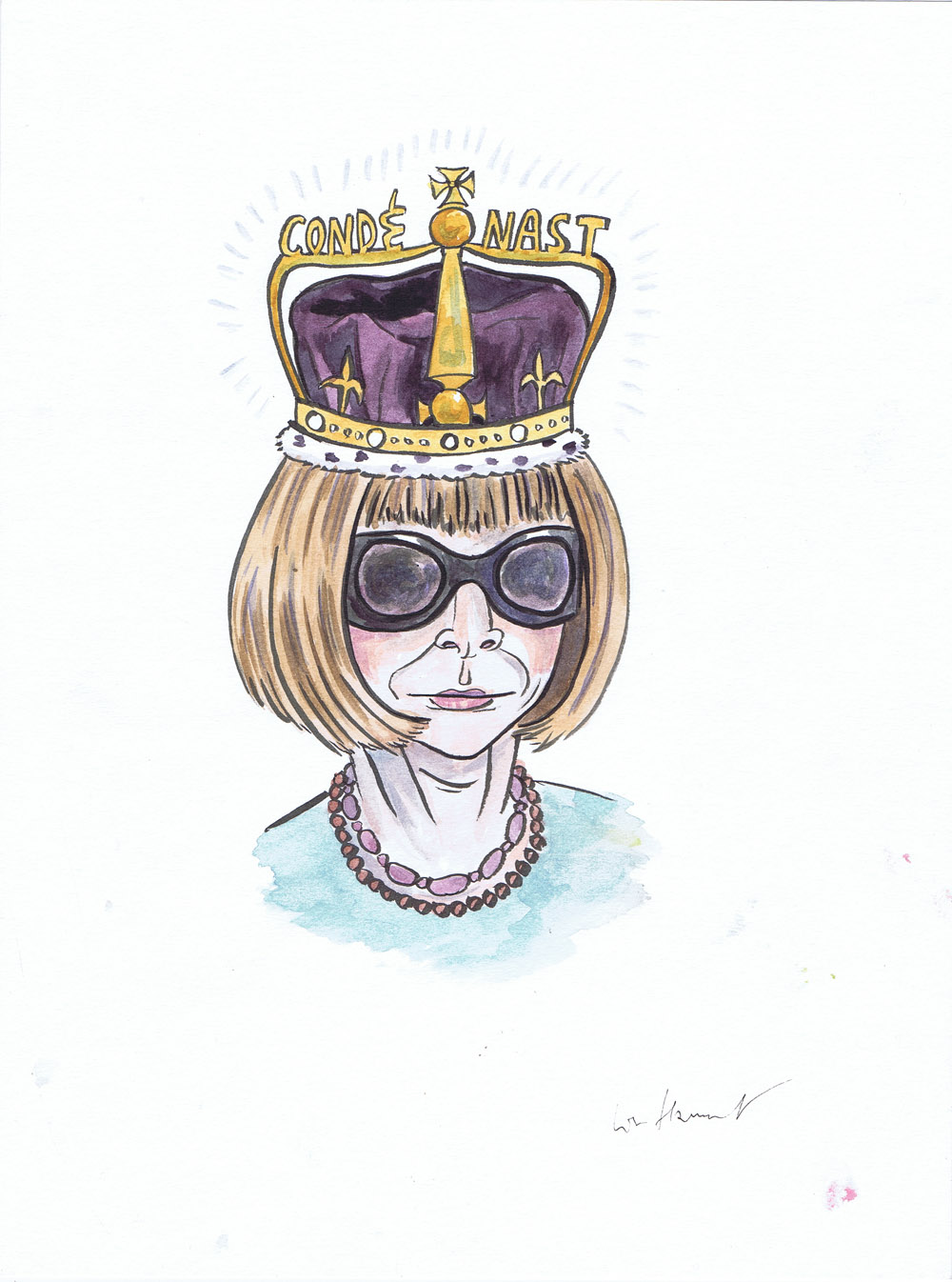 My Dirty Dumb Eyes - Anna Wintour comic - Queen Anna