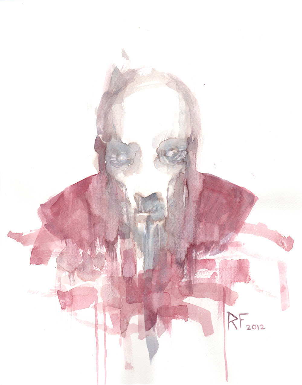 Deadman - Water color sketch