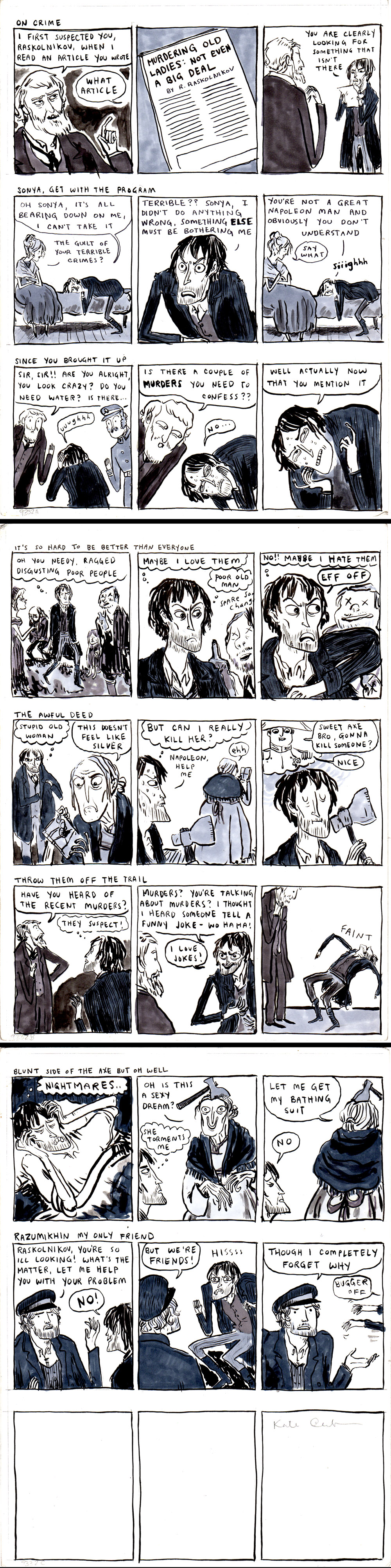 Crime and Punishment 8 Strips