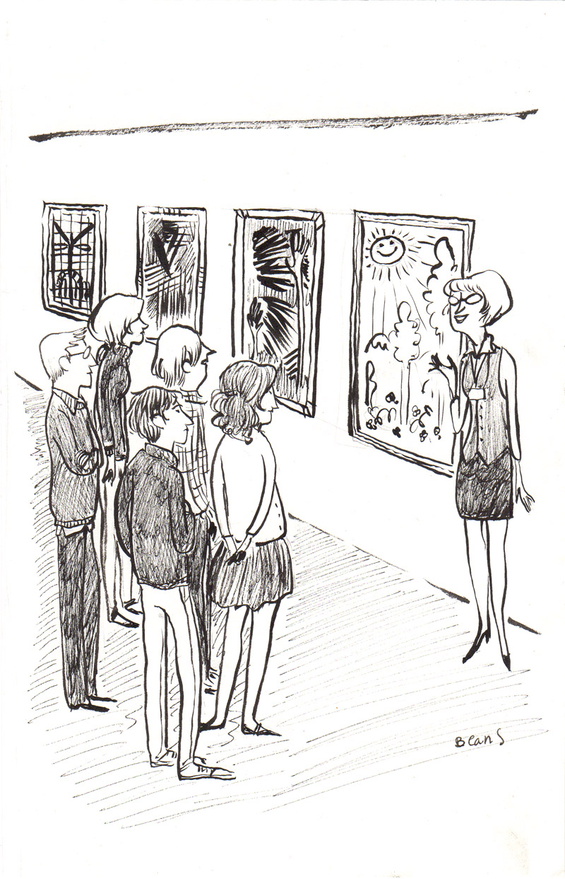 New Yorker Cartoon (Rejected) Gallery Tour