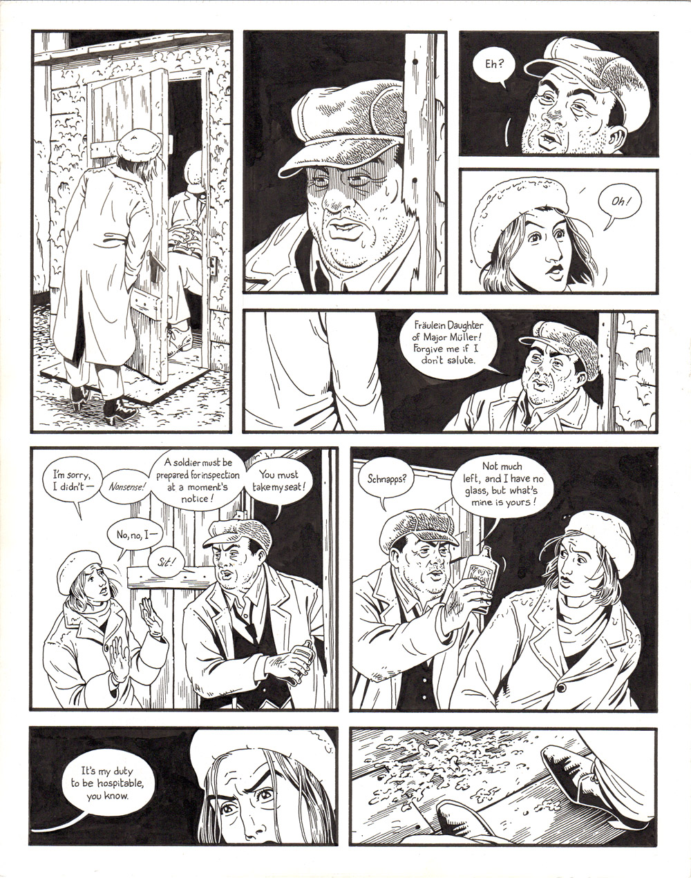 Berlin: Book 1 - Page 112