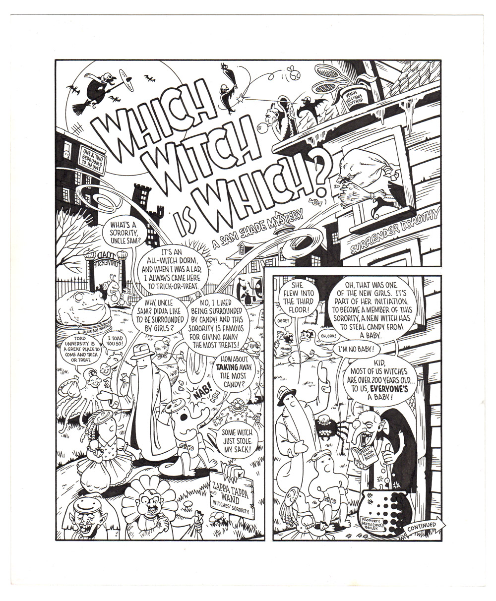 Sam Shade: Which Witch is Which?
