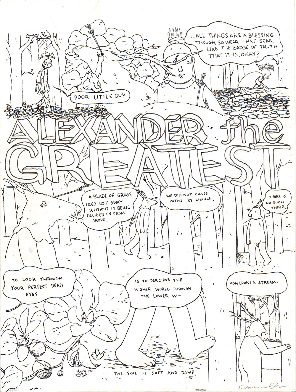 Kramers Ergot #5- Alexander the Greatest (2 pages)