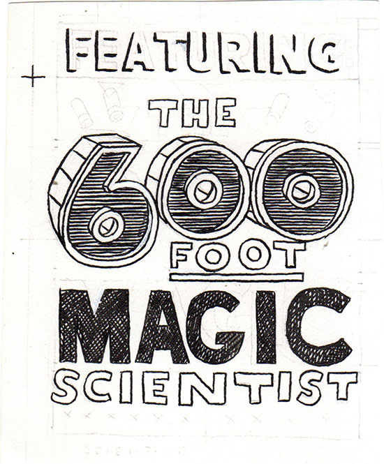 "DUHY Science Fiction title (""Featuring 600 ft Magic Scientist"")"
